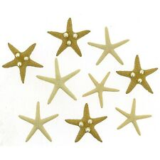 Dress it up Starfish Wishes 9365 set of 2 Packages of Button FREE US SHIPPING