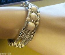 Lab-Created/Cultured Stone Costume Bracelets