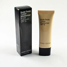 BOBBI BROWN NUDE FINISH TINTED MOISTURIZER SPF 15 (Extra Light Tint) NEW IN BOX