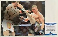 UFC MMA Fighter Diego Sanchez Autographed 8x10 Photo Signed Beckett COA