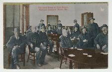 Vintage Postcard National Soldiers Home, Maine The Card Room at Club House