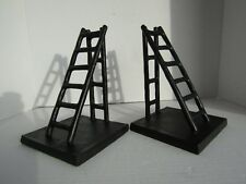 Set of 2 Pottery Barn Heavy Steel Ladder Book Ends