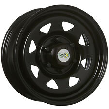 SUNRAYSIA 16x7 6/139.7 30P BLACK STEEL WHEEL HILUX RANGER TRITON
