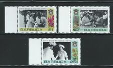 Barbuda Sc 779-81 Queen Elizabeth II 60th Birthday