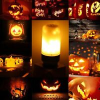 85-265V Flame B22 E12 E14 E27 E26 Fire Effect LED Bulbs Burning Lamp Light