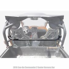 Roll Cage Harness Bar Black Powdercoated for 2016 Can-Am Commander 2 Seat
