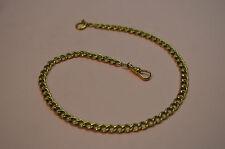 "Vintage 14K TIFFANY & Co. Link Style Pocket Watch Chain 14"" * ORIGINAL TIFFANY"