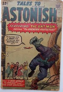 Tales to Astonish # 37 reader copy [3rd Ant-Man in Costume] scarce, gap filler
