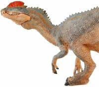 "Jurassic Dinosaur Realistic Model 5.5"" Dilophosaurus Figure for Kids Dino Toy"