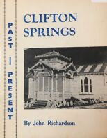 CLIFTON SPRINGS Past – Present