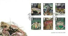 GUERNSEY 2014 MARINE LIFE (2ND) SET FIRST DAY COVER