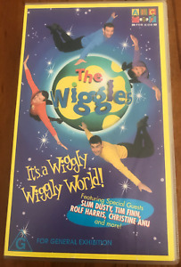 THE WIGGLES IT'S A WIGGLY WIGGLY WORLD! & WAKE UP JEFF AS NEW 2 VIDEOS FREE POST