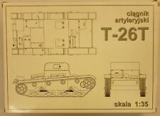 RPM 1/35 T-26T Tank Model Kit 221 Vintage New