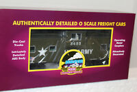 MTH #20-91642 U.S ARMY EXTENDED VISION CABOOSE #3455