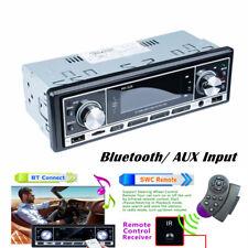 Car Stereo MP3 FM Radio Player AUX Input Audio In-Dash Bluetooth USB SD Card