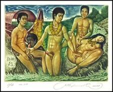 Kirnitskiy Sergey 2008 Exlibris C4 Erotic Erotik Nude Nudo Sex Sea 162