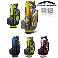 SUN MOUNTAIN H2NO SUPERLITE WATERPROOF GOLF CART / TROLLEY BAG