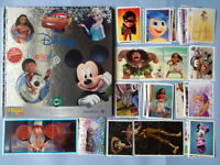 Album neuf  Disney + set complet Stickers à coller CARREFOUR 2017 Panini tb