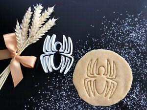 Cool Spider Cookie Cutter 02 | Fondant Cake Decorating | UK Seller