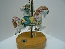 Breckenridge Carousel Horse Music Box