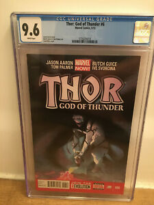 Thor: God of Thunder #6 CGC 9.6 1st Appearance Of Knull in Cameo