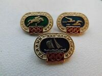 Vintage Soviet Pin Badge Olympics Moscow 1980 Olympic Games,Sport,USSR