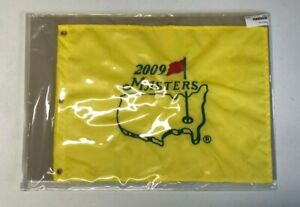 MASTERS Official 2009 EMBROIDERED Golf Pin FLAG Sealed NEW Angel Cabrera