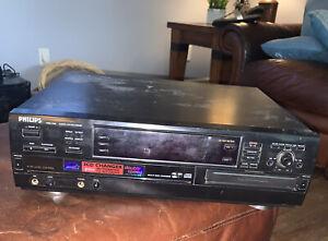 Philips CDR 785 3 + 1 CD Changer Player Recorder / Burner. No Remote