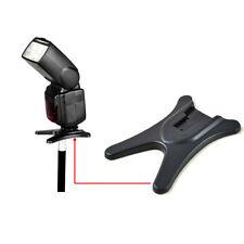 1pc Shoe Flash Stand Flashgun Speedlite Base Holder Bracket For DSLR Camera Good