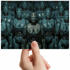 "Futuristic Robot Android Small Photograph 6"" x 4"" Art Print Photo Gift #3620"