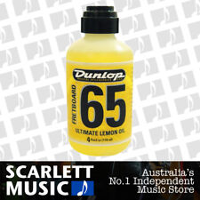 Jim Dunlop Fretboard 65 Ultimate Lemon Oil 118 mL Guitar Cleaner J6544