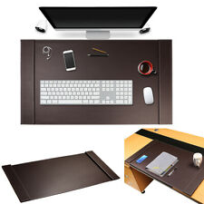 Luxury Leather Home Office Desk Blotter Protector Mouse Pad Wrting Mat 34 X 20