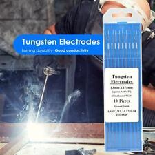 10pcsset Wl20 Lanthanum Tungsten Electrode Weld Rods For Welding Machine
