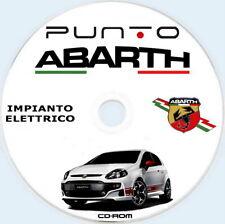 """ABARTH PUNTO EVO MY2012,manuale officina """"IMPIANTO ELETTRICO"""" ITA"""