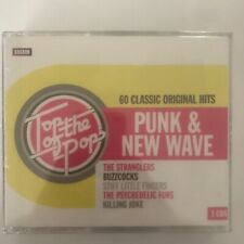 Top of the pops punk & new wave 3 cd neuf sous blister