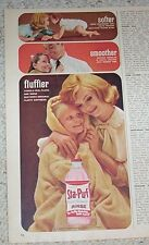 1962 old advertising - Staley's Sta-Puf diaper baby laundry girl PRINT AD Advert