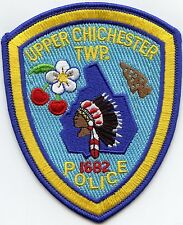 UPPER CHICHESTER TOWNSHIP PENNSYLVANIA PA indian POLICE PATCH