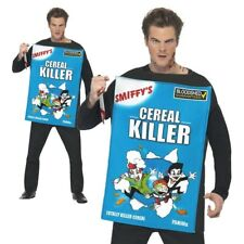 Cereal Killer Costume Mens Funny Halloween Fancy Dress Adult Novelty Outfit