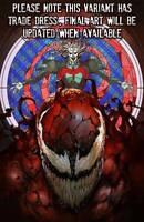 WEB OF VENOM CULT OF CARNAGE #1 SKAN VARIANT MARVEL COMICS SPIDER-MAN