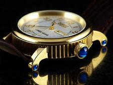 NOS Invicta Men's Executive Swiss Made ETA 2836 Automatic Cabochon 23KGP Watch