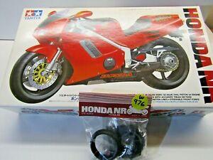 Tamiya 1:12 Scale Honda NR750 Tyres, Rear Spring, Hardware etc Parts Only