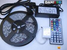 Tira Led RGB 5M 300 led SMD 5050 + 44 KEY + ADAPTADOR 12v 6A IP65