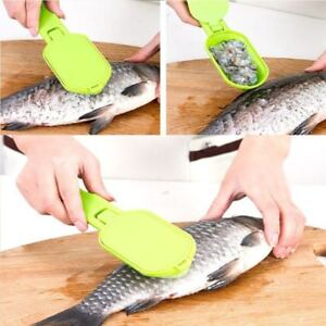 Practical Enviromental Fish Scaler Clam Opener Scale Scraper Kitchen Accessories