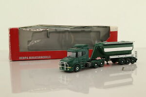 Herpa 1:87 Scale; Scania T Cab Powder Tanker; Damaged Boxed