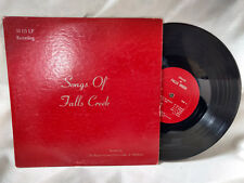 """Baptist General Convention of Oklahoma 10"""" LP Songs of Falls Private Gospel"""