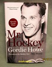 Gordie Howe, Mr Hockey: My Story AUTOGRAPHED Edition Hardcover – 2014