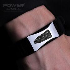 Power Ionics 3000ions Germanium F.I.R Black Carbon Fiber Bio Bracelet Wristband