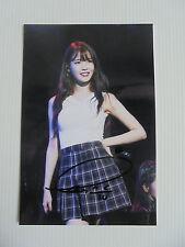 IU Lee Ji Eun KPOP Korean Actress 4x6 Photo Autograph hand signed USA Seller 8