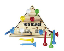 The Tricky Triangle Peg Game CLASSROOM Birthday PARTY favor CRACKER BARREL