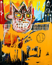Art Poster J M  Basquiat Basketball King  Popart  Art Print